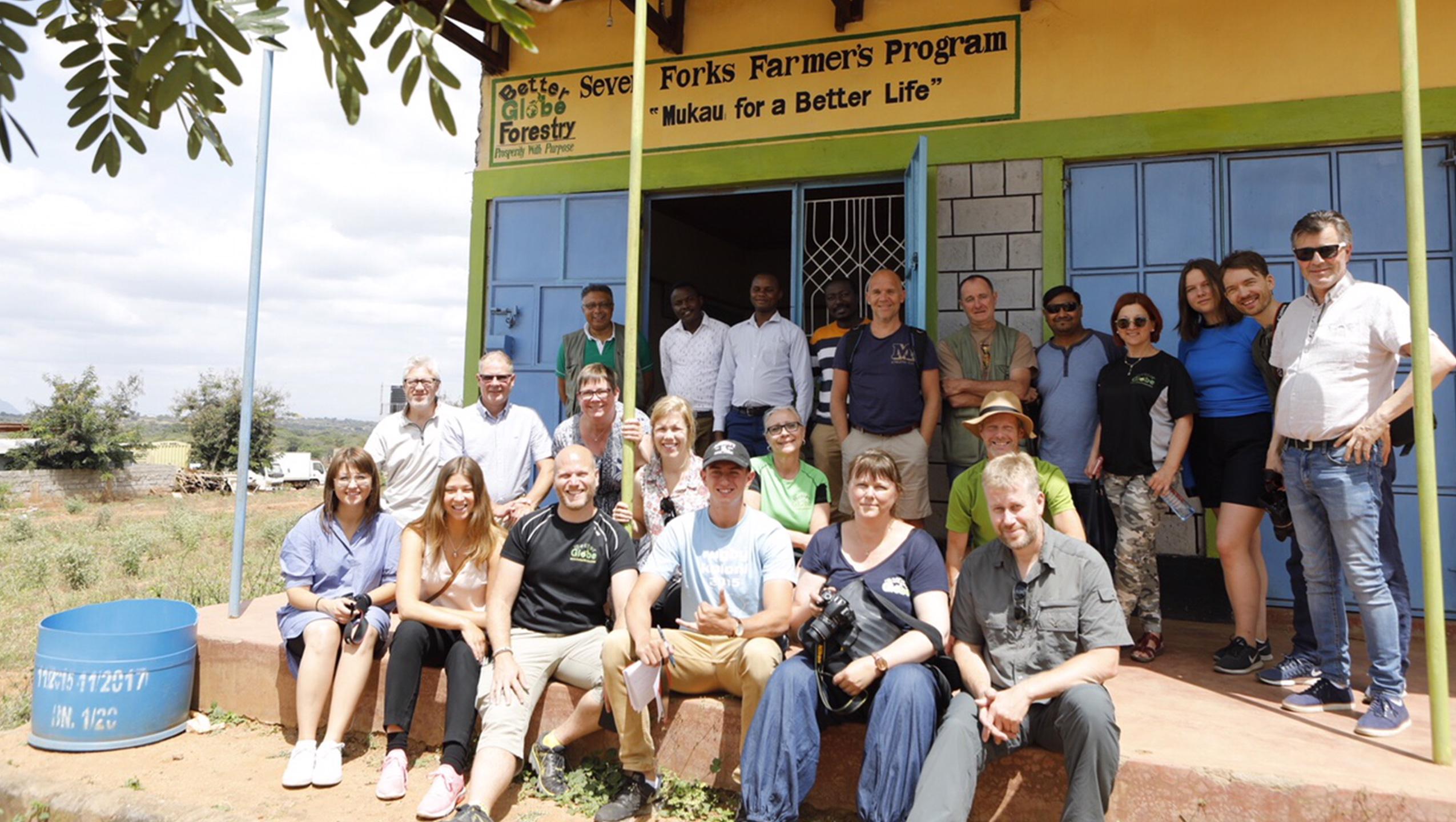 20 kunder besöker Kenya just nu